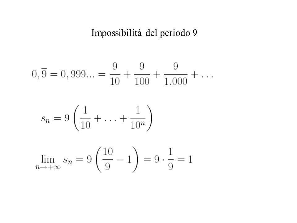 Impossibilità del periodo 9