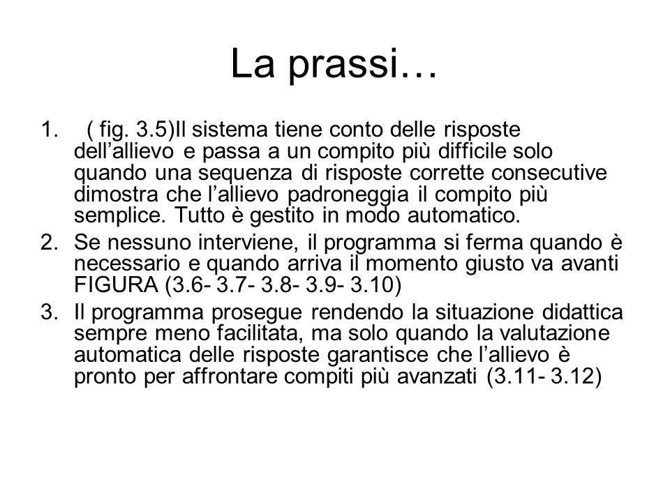 La prassi…