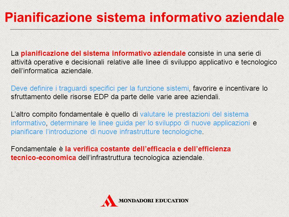Pianificazione sistema informativo aziendale