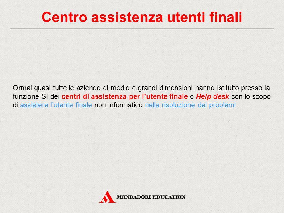 Centro assistenza utenti finali