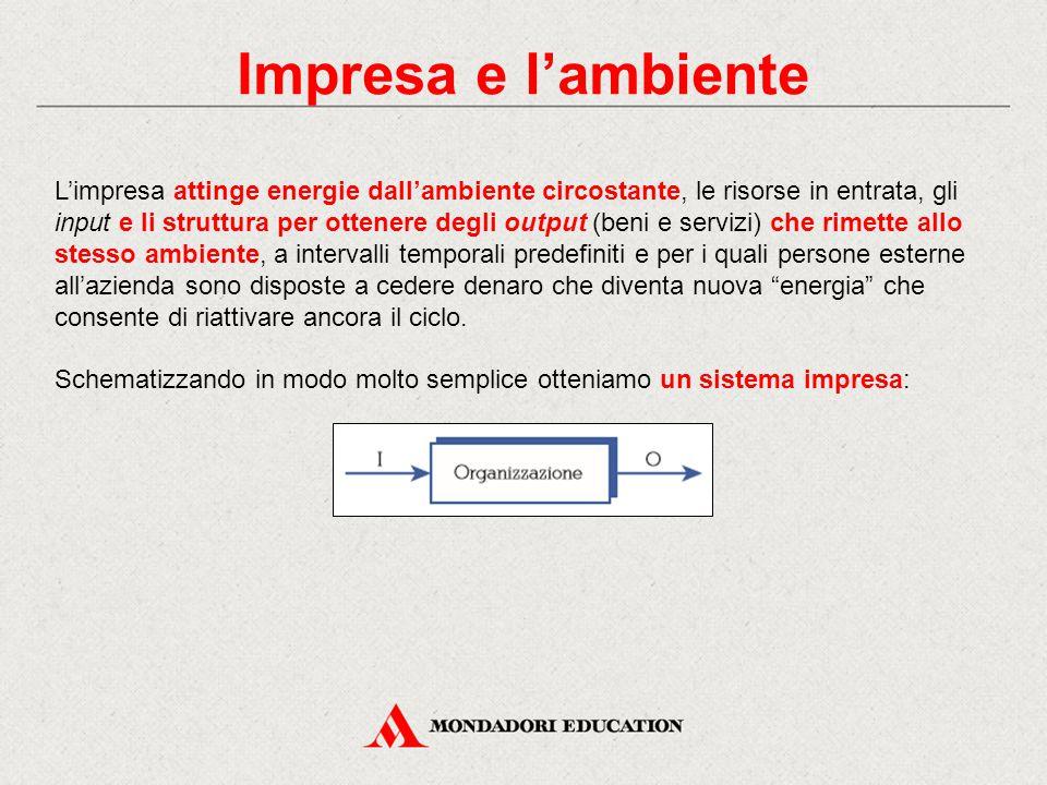 Impresa e l'ambiente