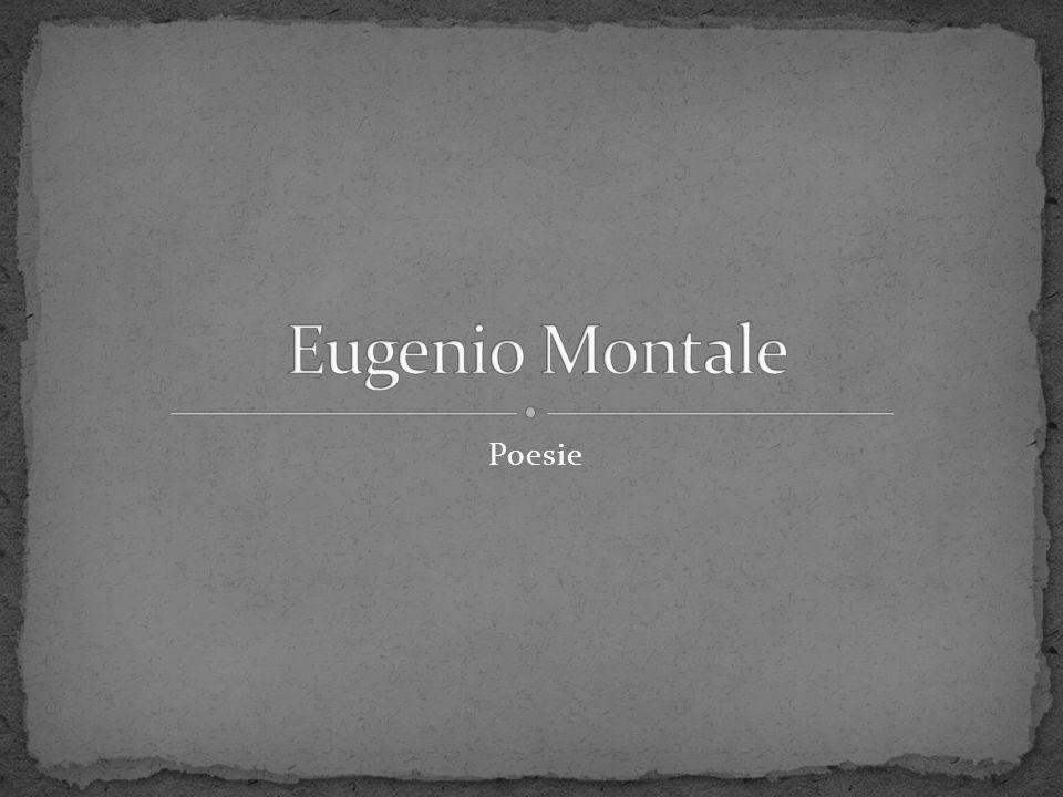 Eugenio Montale Poesie