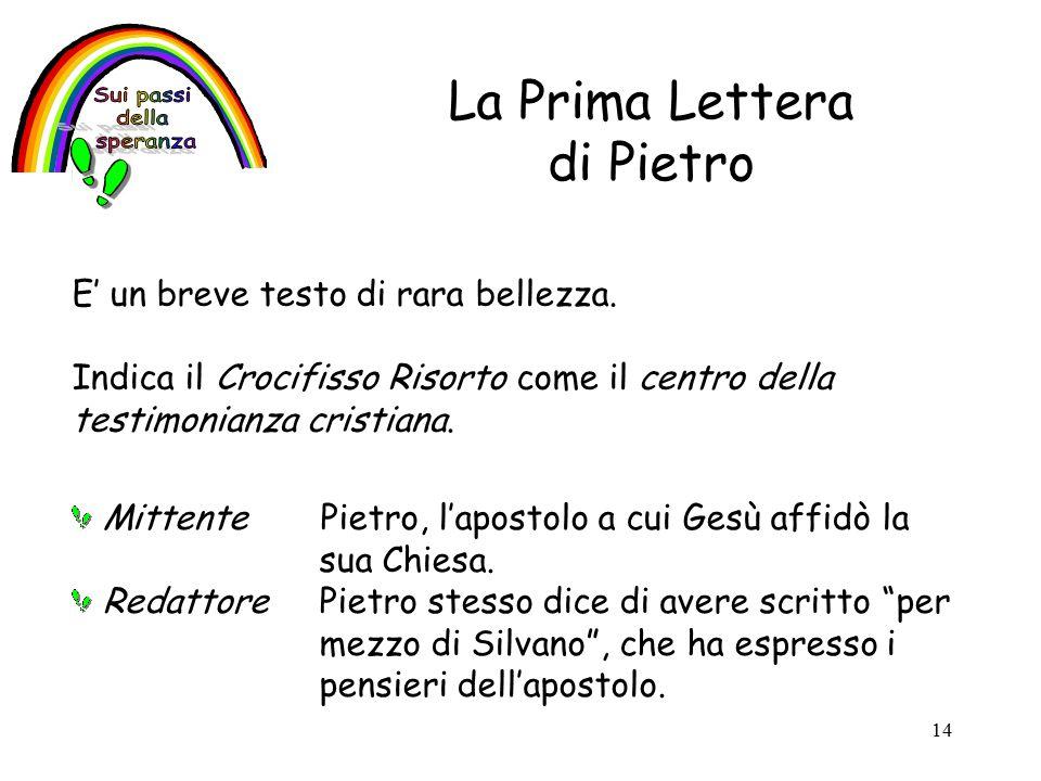 La Prima Lettera di Pietro