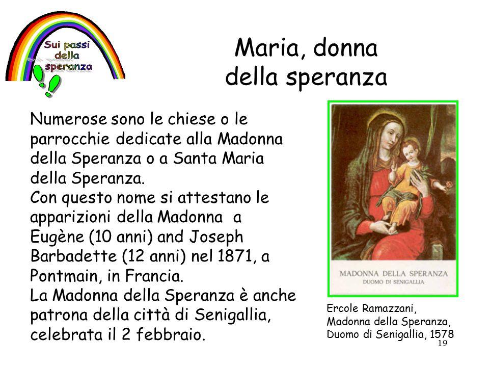 Maria, donna della speranza