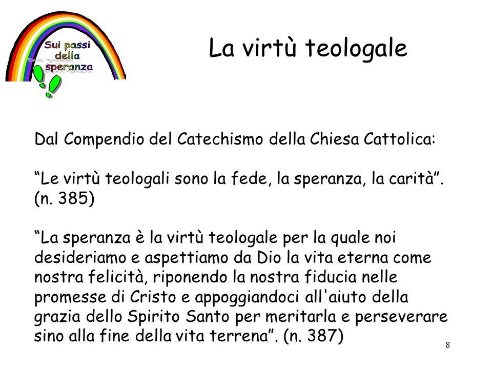 La virtù teologale Sui passi della speranza