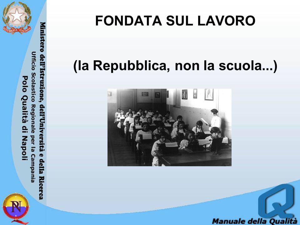 (la Repubblica, non la scuola...)