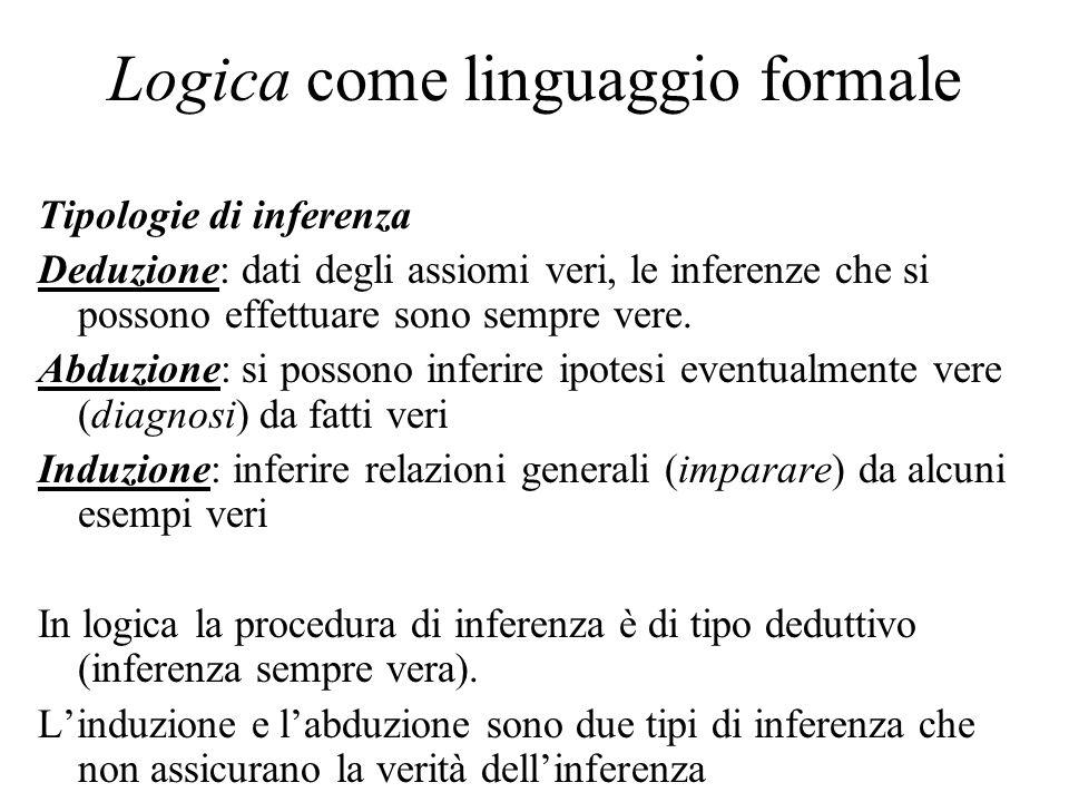 Logica come linguaggio formale