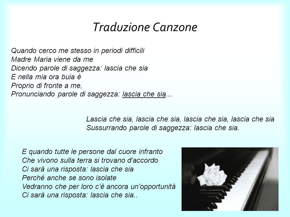 Traduzione Canzone