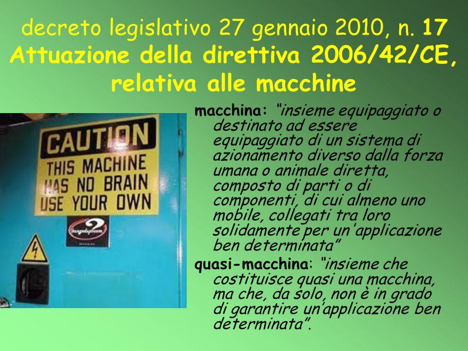 decreto legislativo 27 gennaio 2010, n
