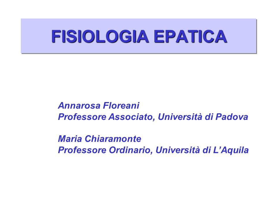 FISIOLOGIA EPATICA Annarosa Floreani