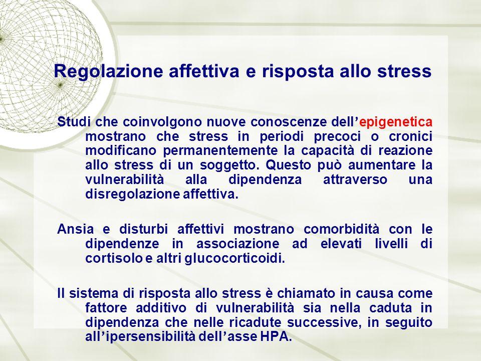 Regolazione affettiva e risposta allo stress