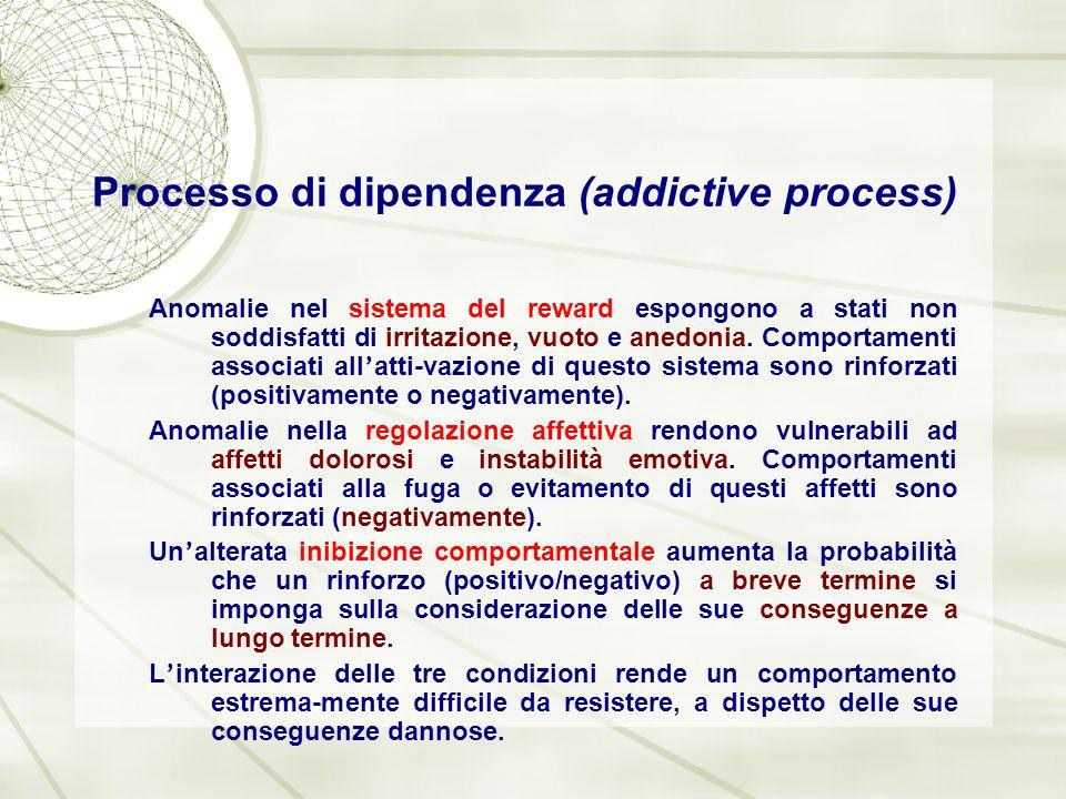 Processo di dipendenza (addictive process)