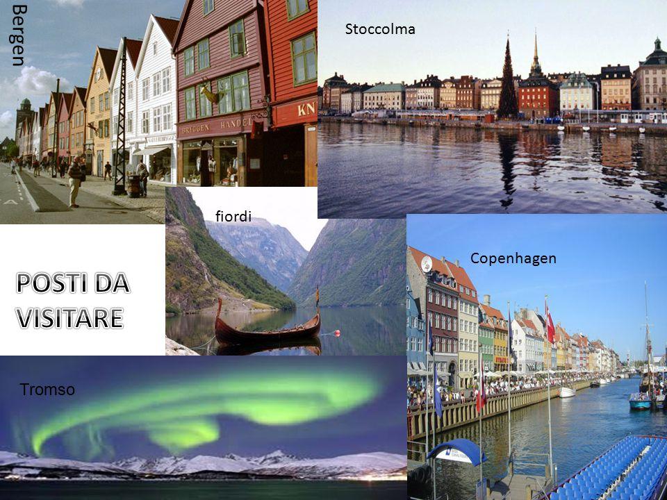 Bergen Stoccolma fiordi Copenhagen POSTI DA VISITARE Tromso
