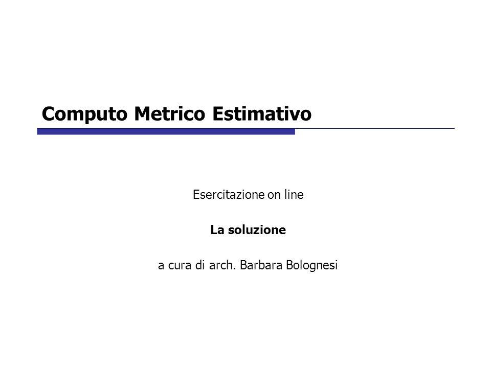 Computo Metrico Estimativo