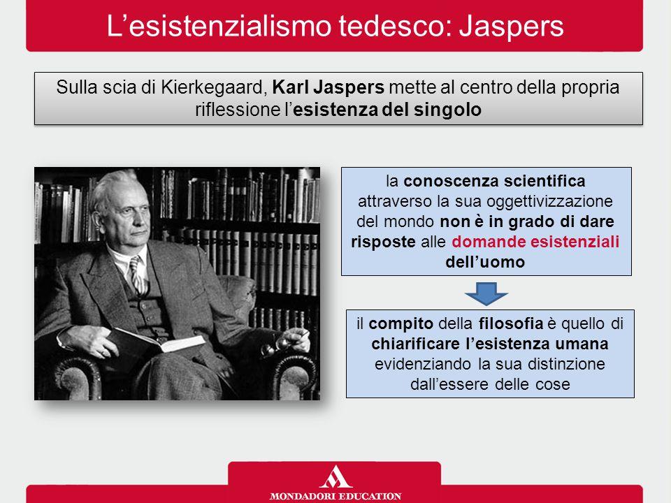 L'esistenzialismo tedesco: Jaspers