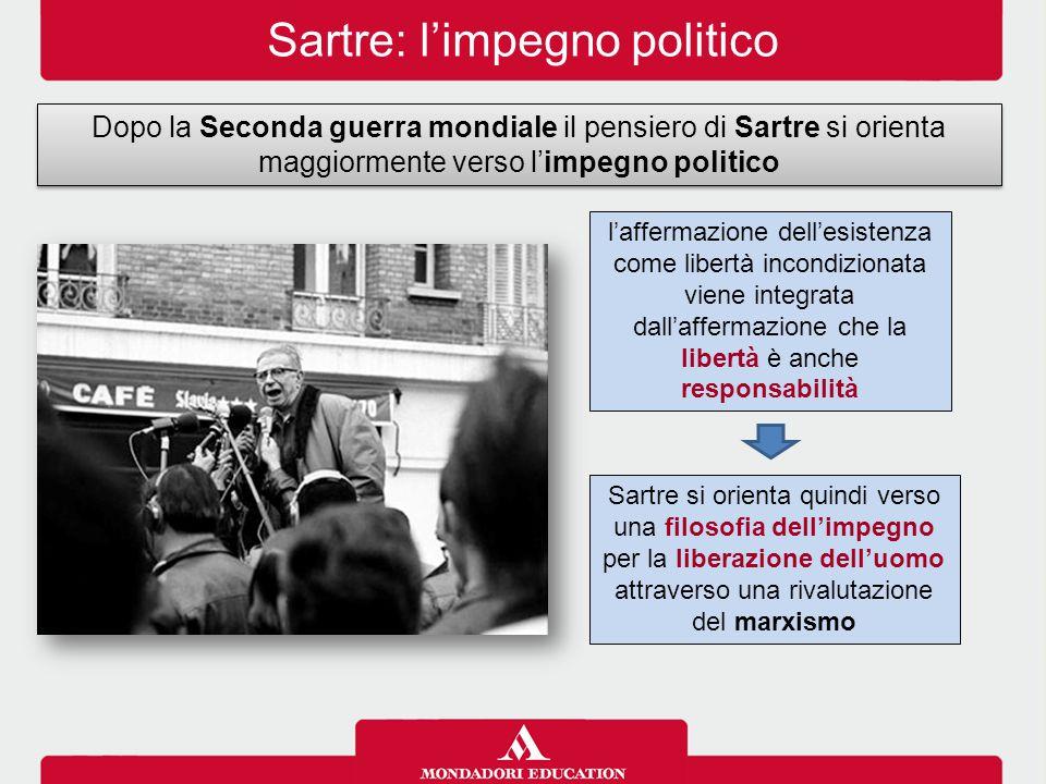 Sartre: l'impegno politico