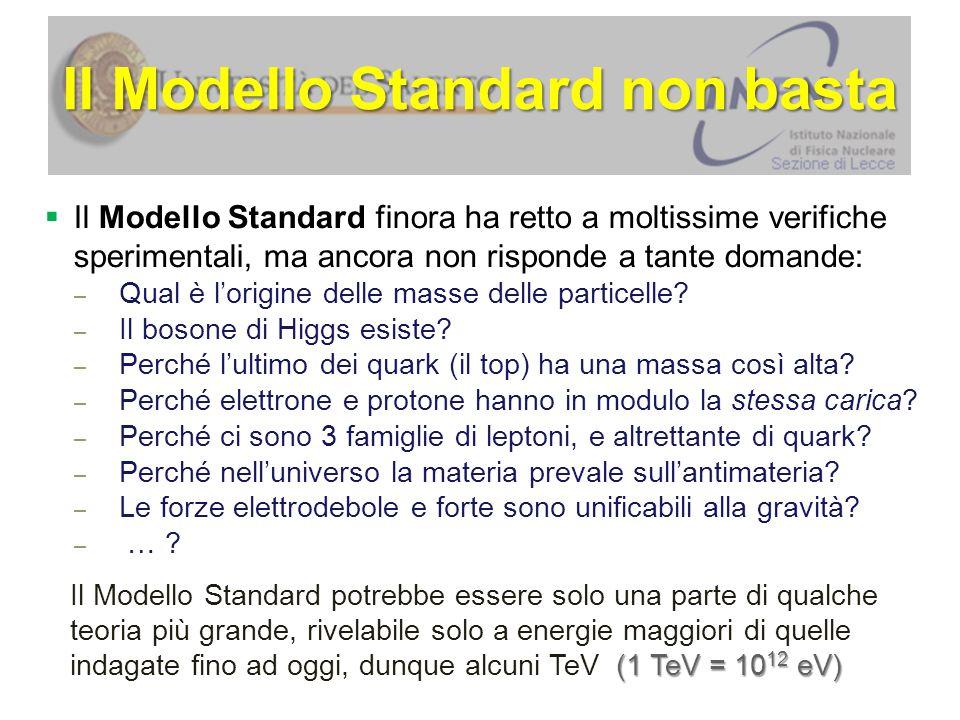 Il Modello Standard non basta