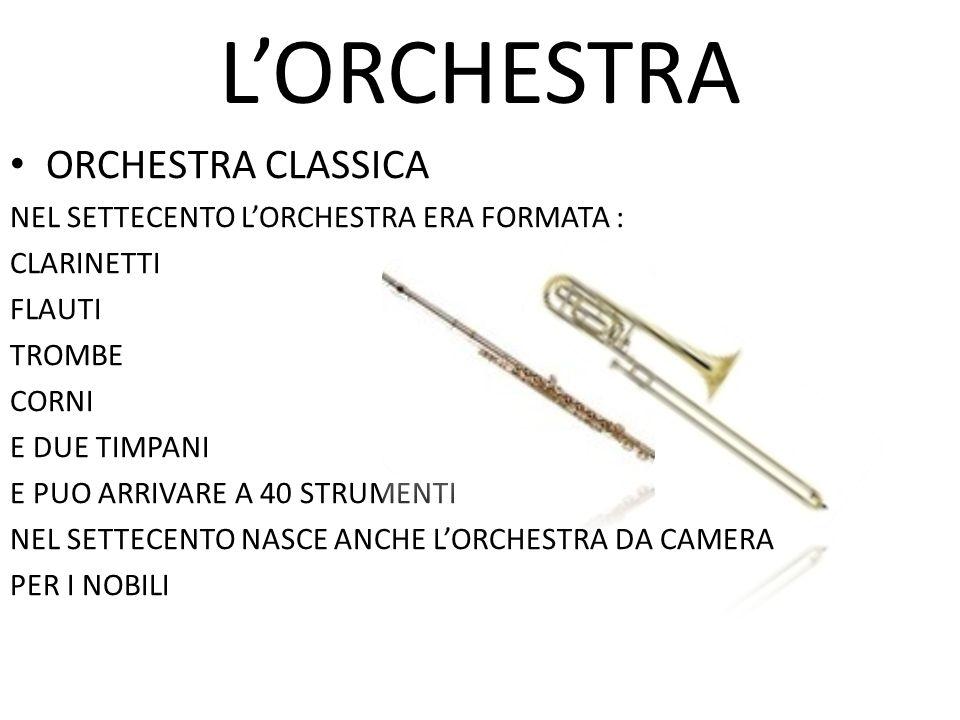 L'ORCHESTRA ORCHESTRA CLASSICA