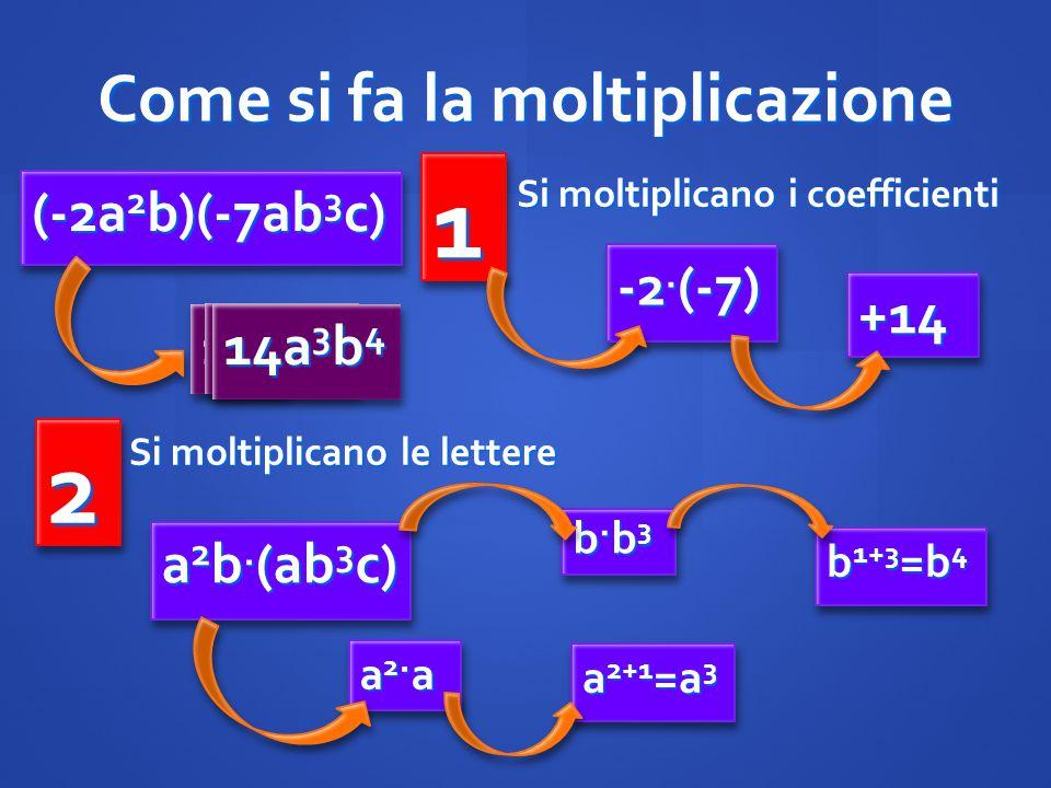 Come si fa la moltiplicazione