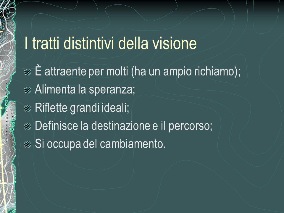 I tratti distintivi della visione