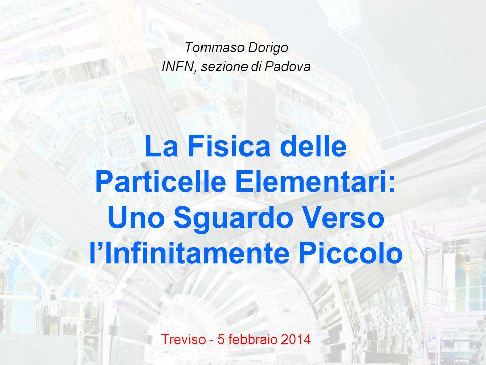 Tommaso Dorigo INFN, sezione di Padova Treviso - 5 febbraio 2014
