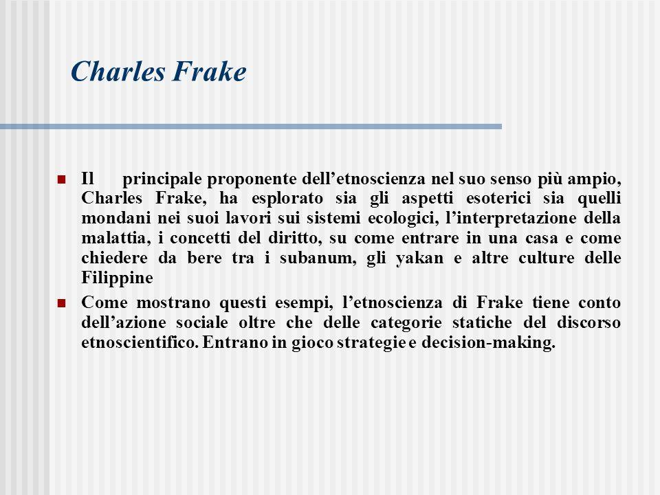 Charles Frake