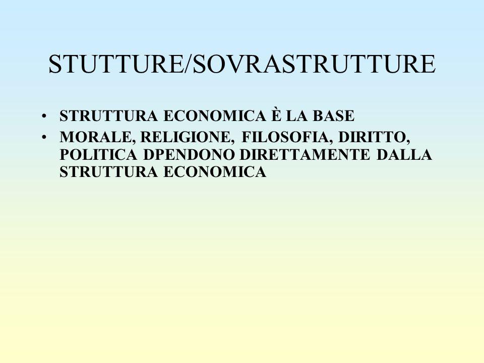 STUTTURE/SOVRASTRUTTURE