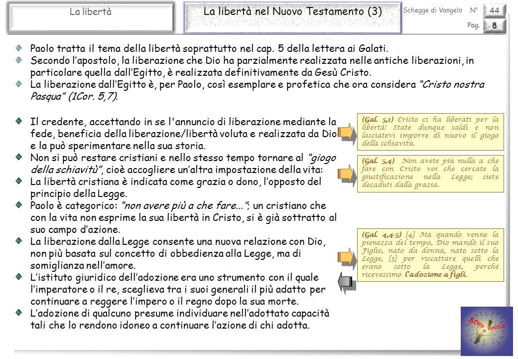 La libertà nel Nuovo Testamento (3)