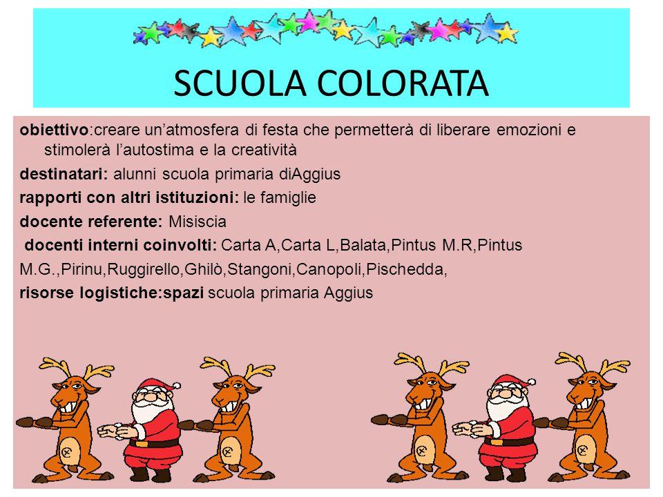 SCUOLA COLORATA