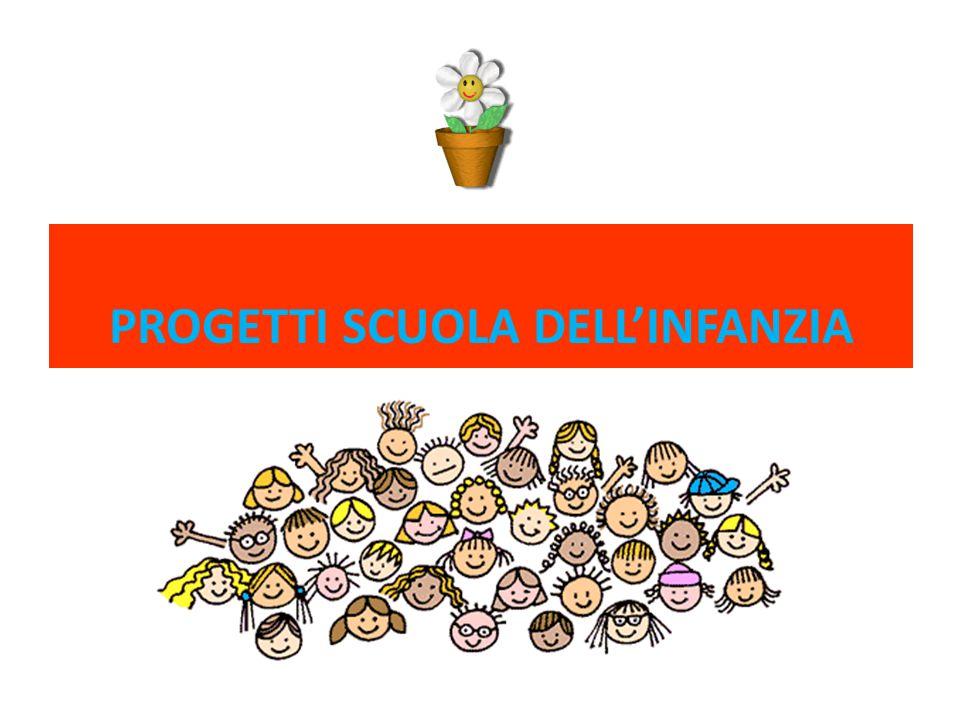 PROGETTI SCUOLA DELL'INFANZIA