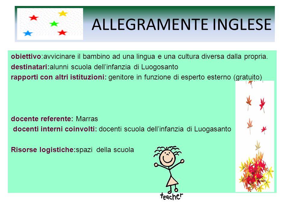 ALLEGRAMENTE INGLESE