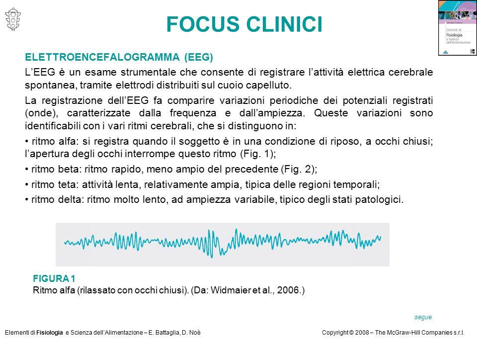 FOCUS CLINICI ELETTROENCEFALOGRAMMA (EEG)