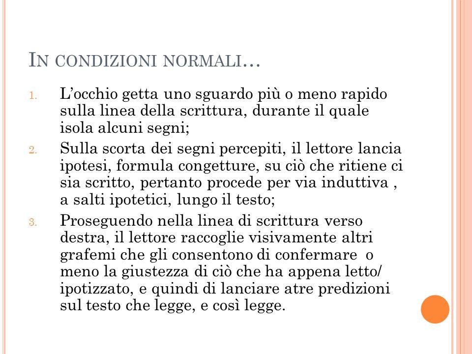 In condizioni normali…