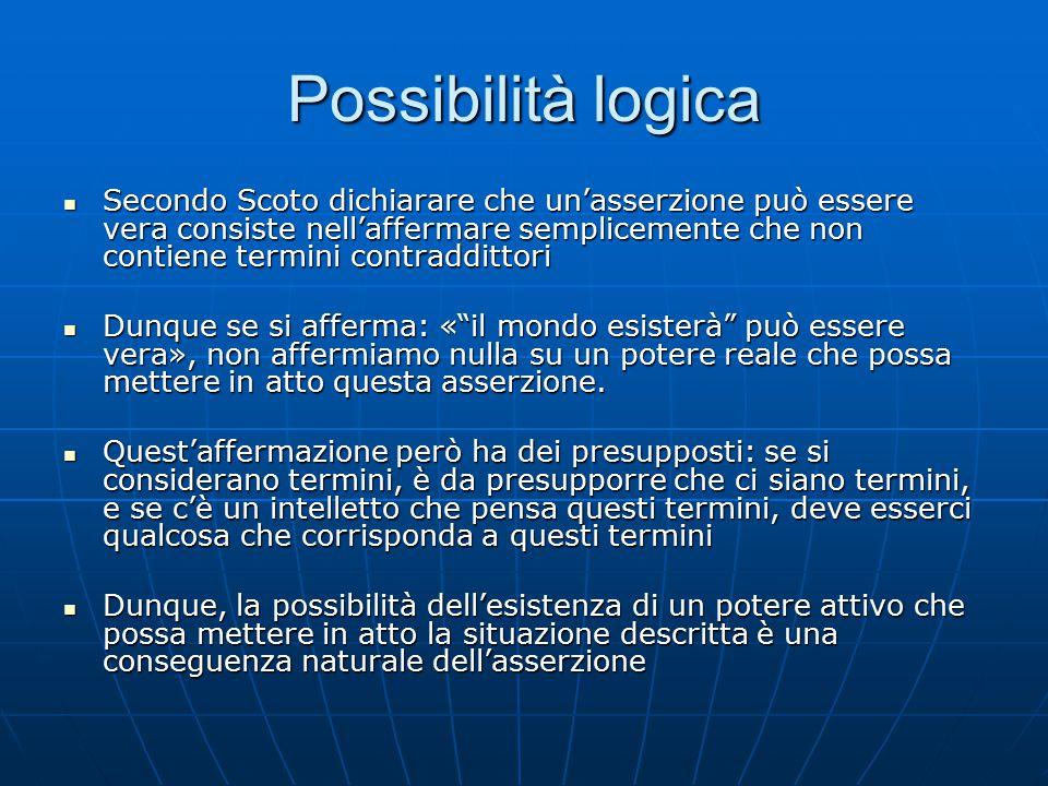 Possibilità logica