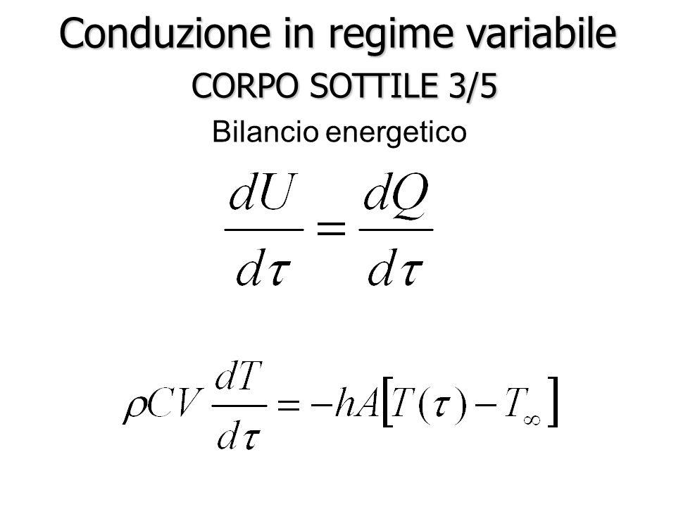 Conduzione in regime variabile CORPO SOTTILE 3/5