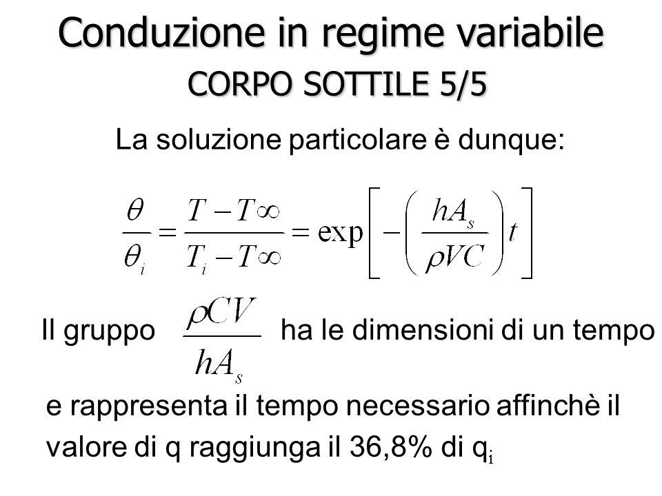 Conduzione in regime variabile CORPO SOTTILE 5/5