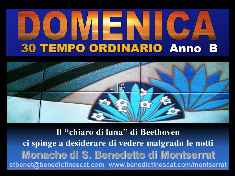 30 TEMPO ORDINARIO Anno B DOMENICA