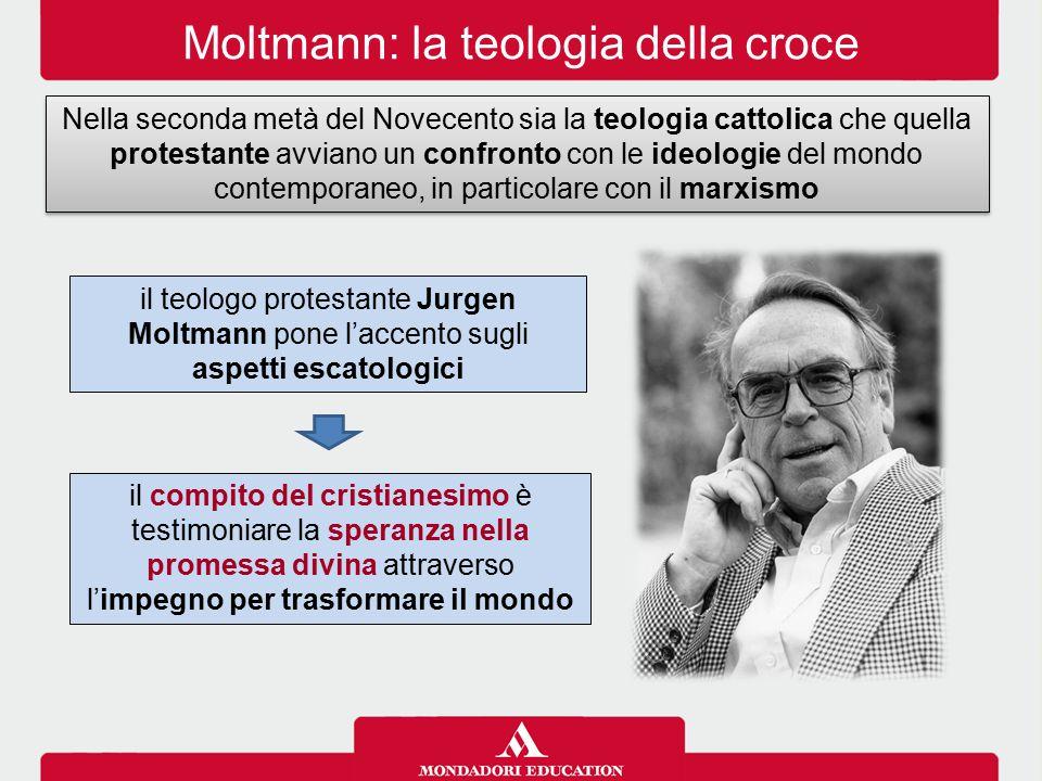 Moltmann: la teologia della croce