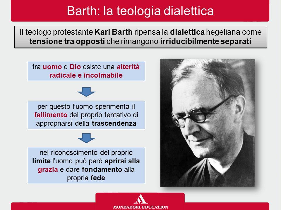 Barth: la teologia dialettica