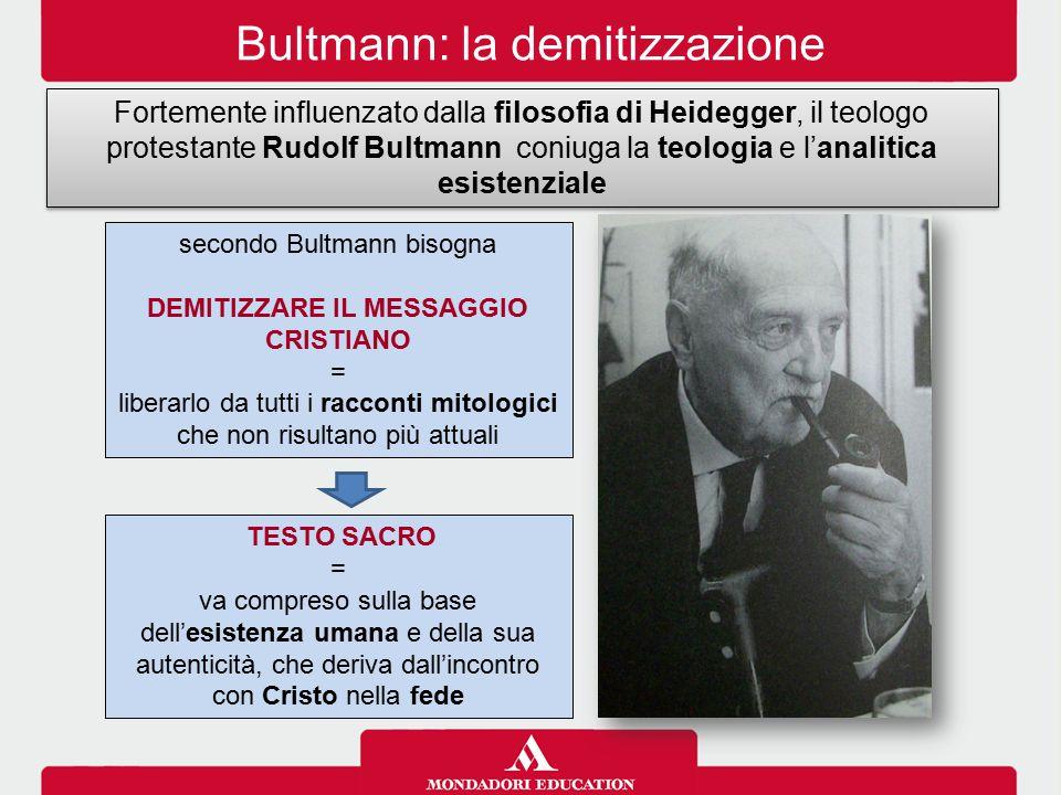 DEMITIZZARE IL MESSAGGIO CRISTIANO