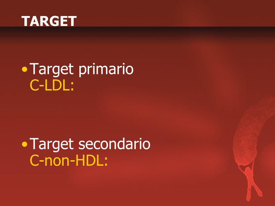 Target primario C-LDL:
