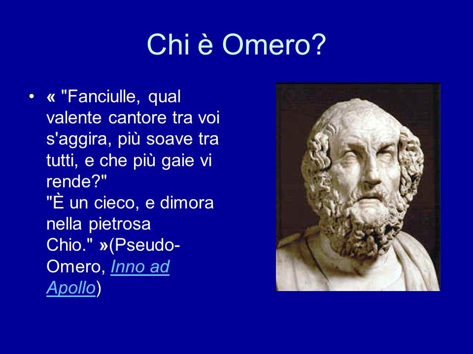 Chi è Omero