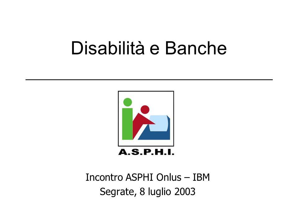 Disabilità e Banche ___________________________