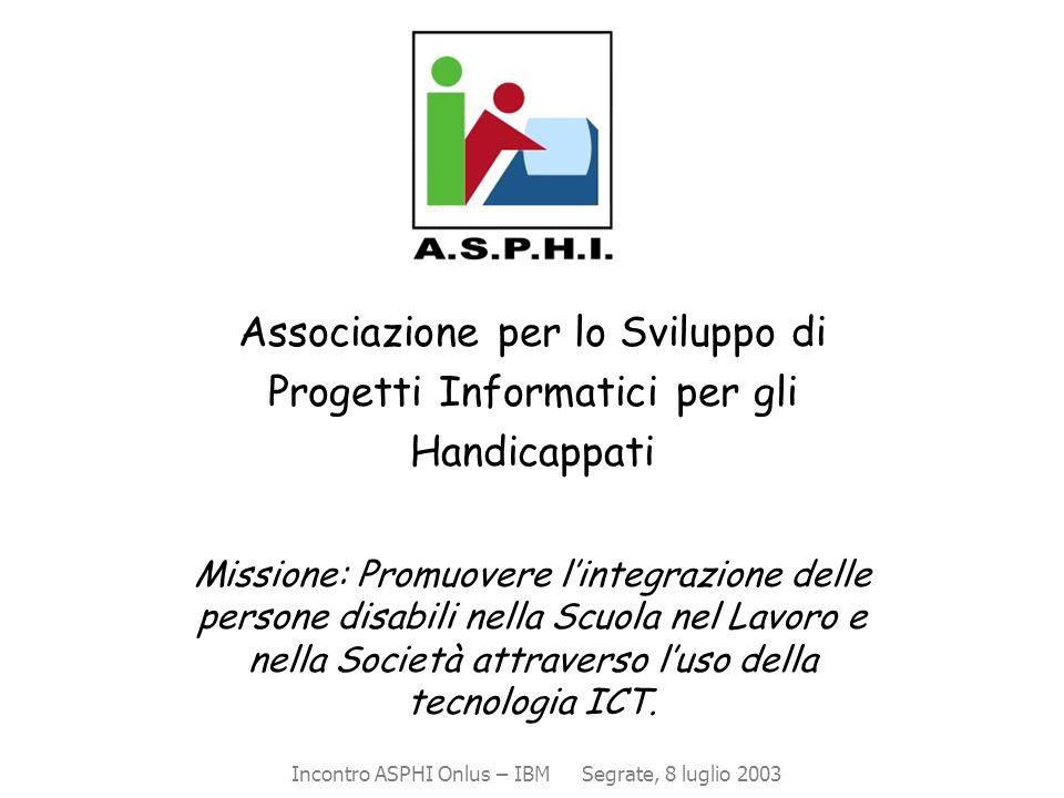 Associazione per lo Sviluppo di Progetti Informatici per gli