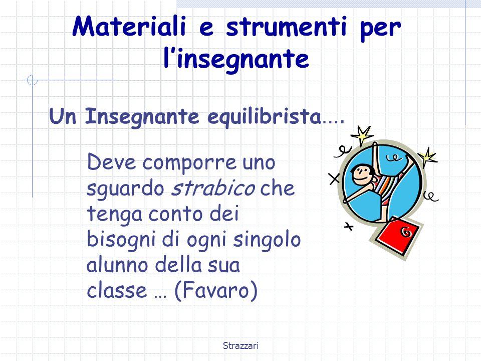 Materiali e strumenti per l'insegnante
