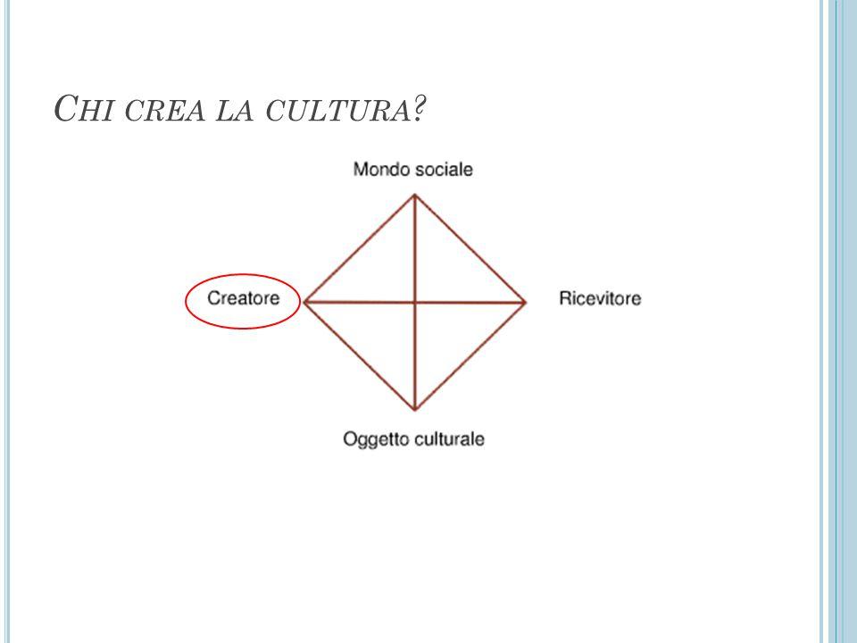 Chi crea la cultura