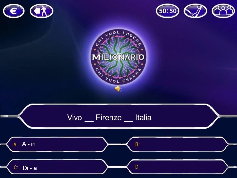 Vivo __ Firenze __ Italia