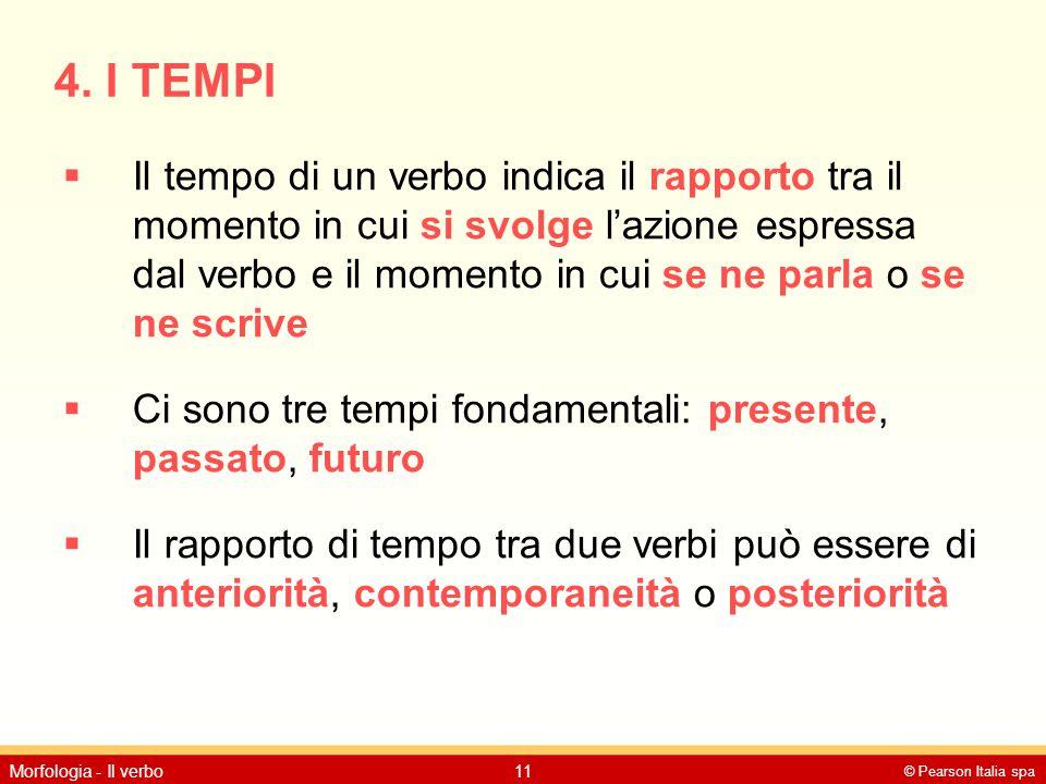 4. I TEMPI