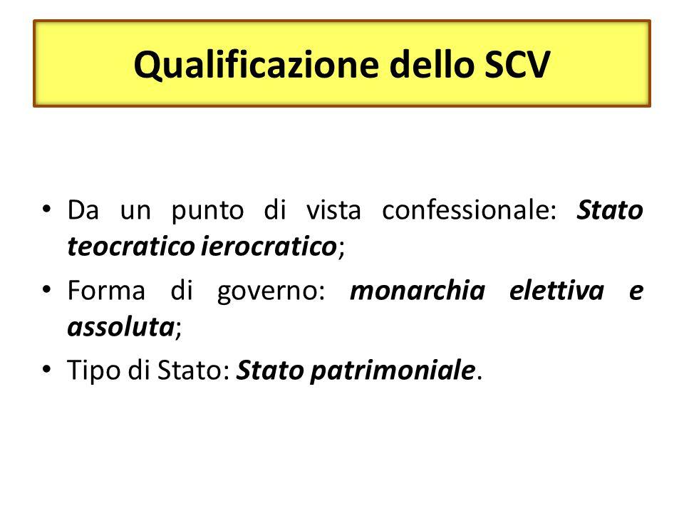Qualificazione dello SCV