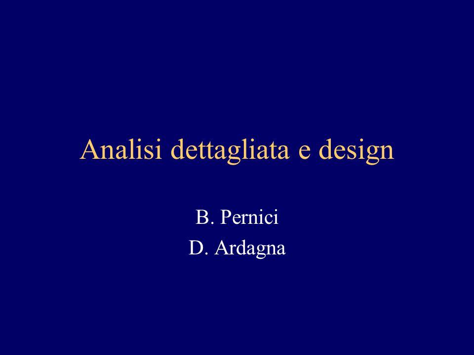 Analisi dettagliata e design